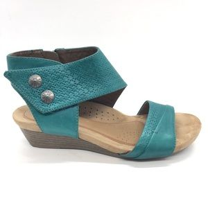 Rockport Cobb Hill Hollywood Cuff Sandals Size 7.5